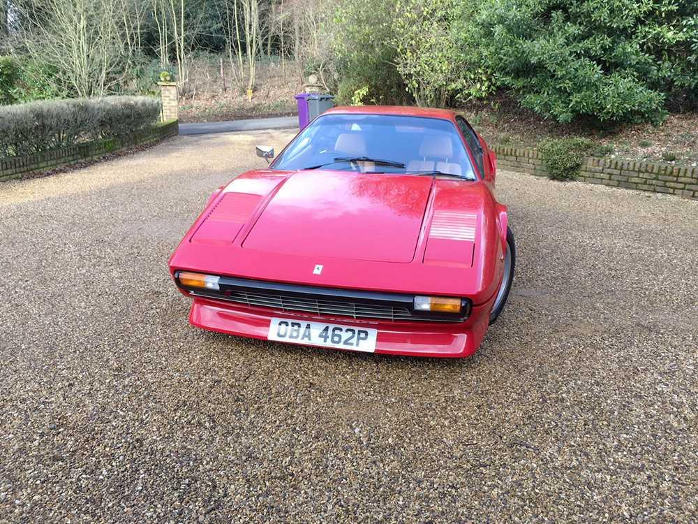 Lot 86-1977 Ferrari 308 GTB 'Vetroresina'