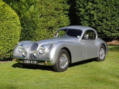 Lot 68-1953 Jaguar XK120 Fixed Head Coupe
