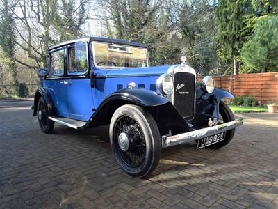 Lot 118-1934 Austin Heavy 12/4 Landaulette Conversion