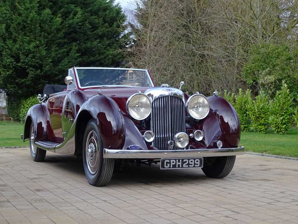 Lot 48 - 1938 Lagonda LG6 Drophead Coupe