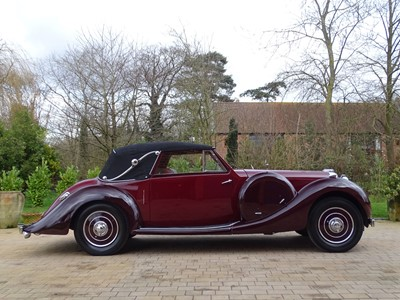 Lot 48-1938 Lagonda LG6 Drophead Coupe