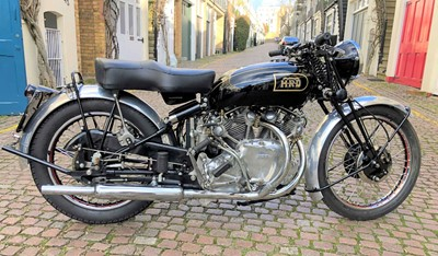 Lot -1947 Vincent Rapide Series B