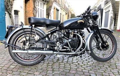 Lot -1955 Vincent Black Shadow Series C