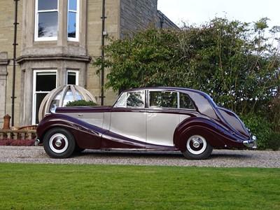 Lot 63-1952 Bentley MK VI Freestone & Webb Saloon