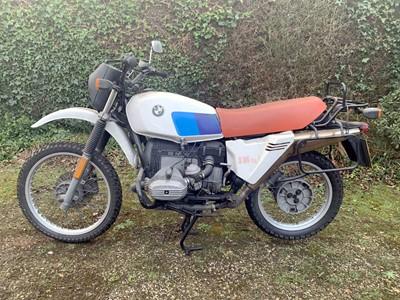 Lot -1980 BMW R80 G/S
