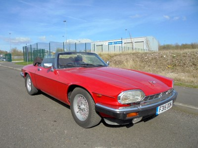 Lot 28 - 1988 Jaguar XJ-S 5.3 Convertible