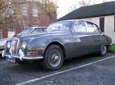 Lot 13-1967 Jaguar S-Type 3.8 Litre