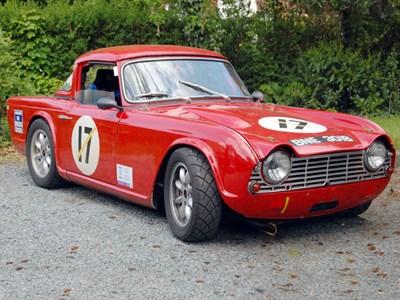 Lot 19-1964 Triumph TR4