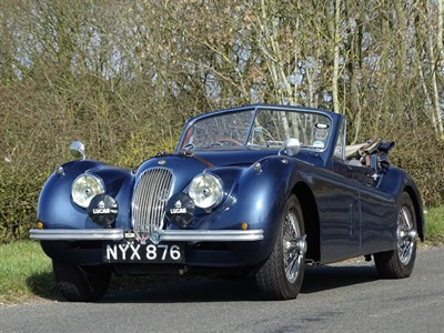 Lot 94 - 1953 Jaguar XK120 Drophead Coupe
