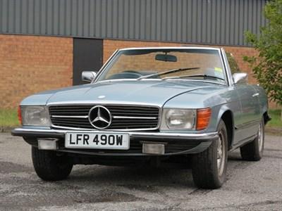 Lot 82-1981 Mercedes-Benz 350 SL