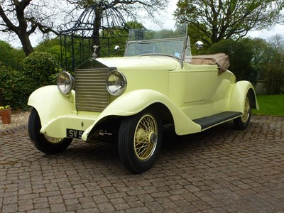 Lot 73-1923 Rolls-Royce 20hp Convertible