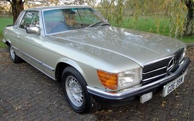 Lot 9-1980 Mercedes-Benz 380 SLC