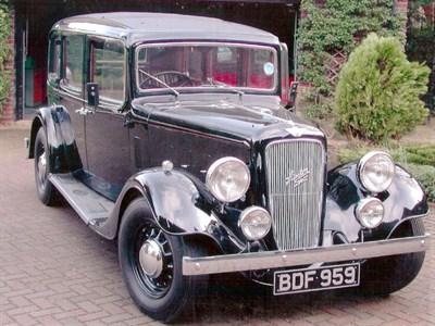 Lot 2-1936 Austin 18/6 York Saloon