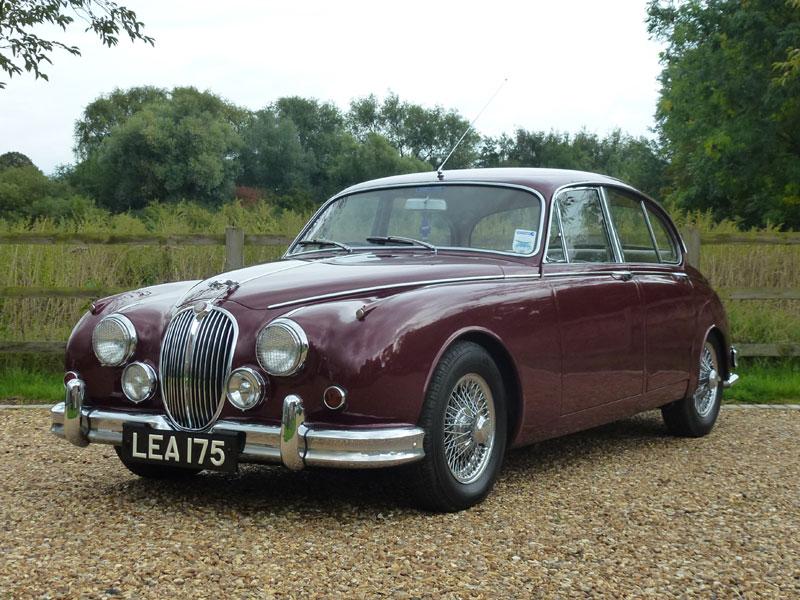 Lot 58-1963 Jaguar MK II 3.8 Litre