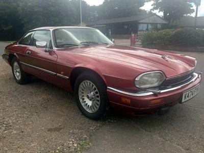 Lot 11 - 1993 Jaguar XJS 6.0