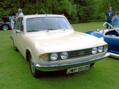 Lot 2-1975 Triumph 2000 Saloon Mk2
